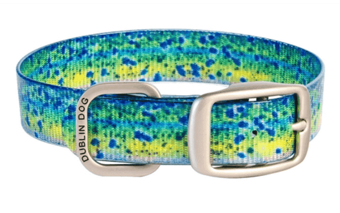 Dublin Dog - KOA Dog Collar - Mahi-Mahi Series (Stink Proof, Waterproof, Colorful)
