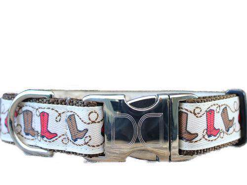 Boots Custom Engraved Dog Collar by Diva Dog PetDesignz
