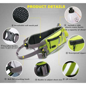 Truelove, Hands Free, Dog Jogging Belt, Running Walking Training Belt