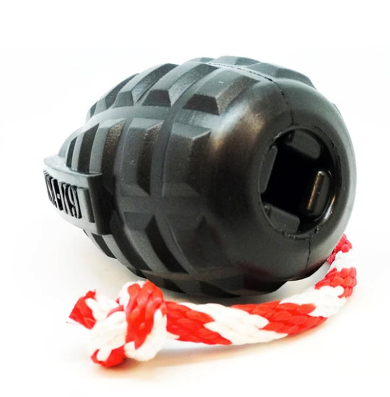 USA-K9 Magnum Grenade, Treat Dispensing, Dog Chew Toy