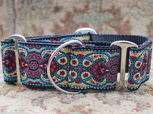 Diva Dog - Kashmir Martingale Dog Collar