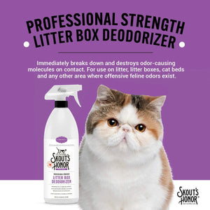 Professional Strength Cat Litter Box Deodorizer