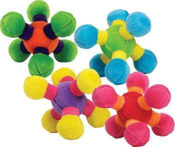 Loopies - Plush Dog Toy - Tiny Floppy Nobbies (A Loopies Favorite for Small Dog)