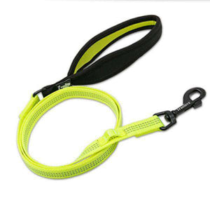 Truelove Dog Leash With LED Attachment, Neoprene Padded Handle, Heavy Duty