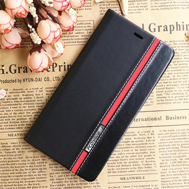 1+X Business & Fashion Flip Leather Cover Case For Oneplus X One Plus X Case Mobile Phone Cover Mixed Card Slot