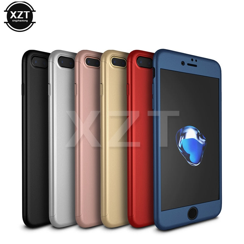 1pcs Luxury Back Soft Silicon Case For Iphone 7 7plus Case Full Cover For Iphone 7plus Phone Bags Conver Cases