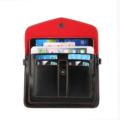 2017 Multi-pocket Girls Women Pouch Holster Bag Wallet Phone Cases For Lenovo Vibe Shot K5 P1m S1 P70 S90 P1 X3 K5 K3 Note Cover