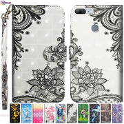 3D Painted Case For Huawei Honor 9 Lite LLD-L31 Mobile Phone PU Leather Flip Wallet Cove For Huawei Honor9 Lite LLD L31 Box Capa