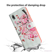 3D Painted Case For Huawei P20 EML-L29 EML-L09 Phone PU Leather Flip Wallet Cove For Huawei P 20 Global EML L29 L09 TPU Box Capa