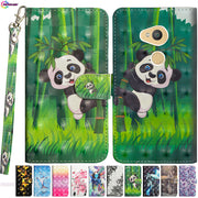 3D Painted Case For Sony Xperia XA2 H3113 H4113 H4133 Phone PU Leather Flip Wallet Cove For Sony SM12 XA 2 Dual H3123 Box Capa