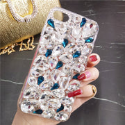 3d Handmade Clear Bling Crystal Rhinestone Diamond Skin Case Cover For Huawei P8 P9 P10 P20 Lite Plus Mate 7 8 9 10 Lite Pro
