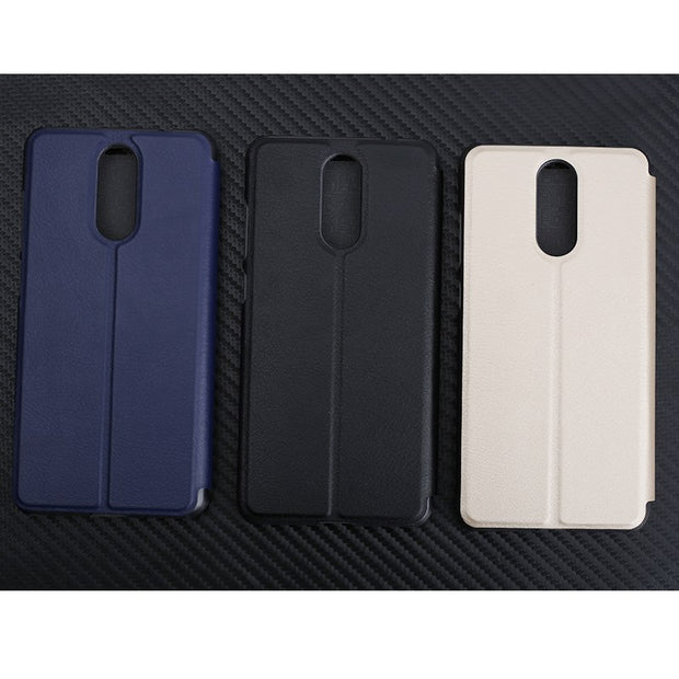 "CUBOT Note Plus Leather Case Protective Stand Flip PU Leather Hard Cover Case For 5.2"" CUBOT Note Plus Mobile Phone"