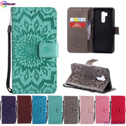 Case Cover For LG G7 ThinQ G710 LM-G710 LMG710 Wallet Flip Phone PU Leather For LG Judy G7+ ThinQ LMG710PM LMG710EM LMG710N Box