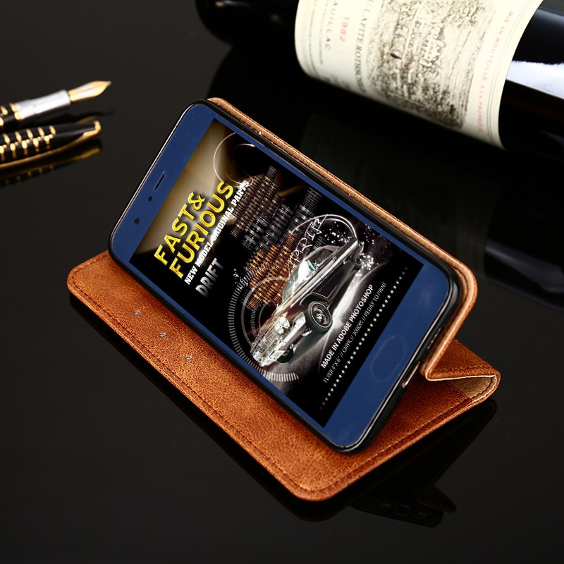 Case For Asus Zenfone 3 Go Live ZB501KL Luxury Business Leather Wallet Flip Cover For Asus ZB501KL Mobile Phone Case