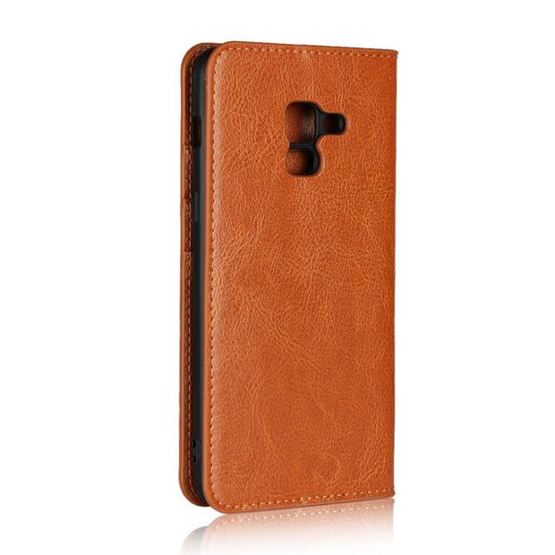 Case For Samsung Galaxy A5 A8 2018 A530F Wallet Luxury Flip PU Leather Phone Back Cover Bags Cases For Samsung A3 A5 2017