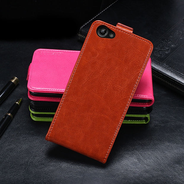 low priced 4ffe1 e551a Case For Vivo Y71 Case Cover 6.0 Inch Flip Leather Protective Case For Vivo  Y71 Cover Business Phone Case