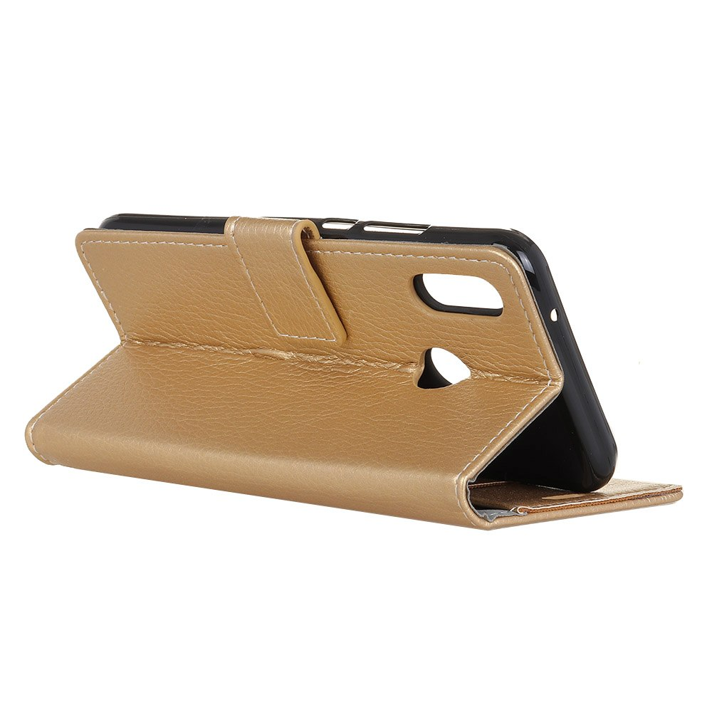 Casteel Litchi Series Luxury High Quality PU Leather Case For Asus ZenFone Max (M2) ZB632KL ZB633KL Bag Cover Shield Case