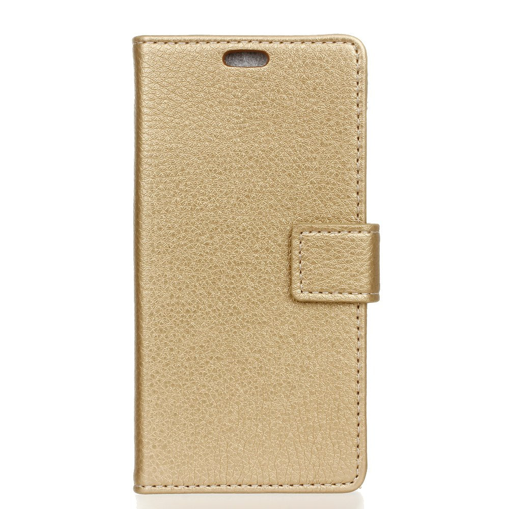 Casteel Litchi Series Luxury High Quality PU Leather Case For Xiaomi Redmi 6 Redmi6 Case Cover Shield