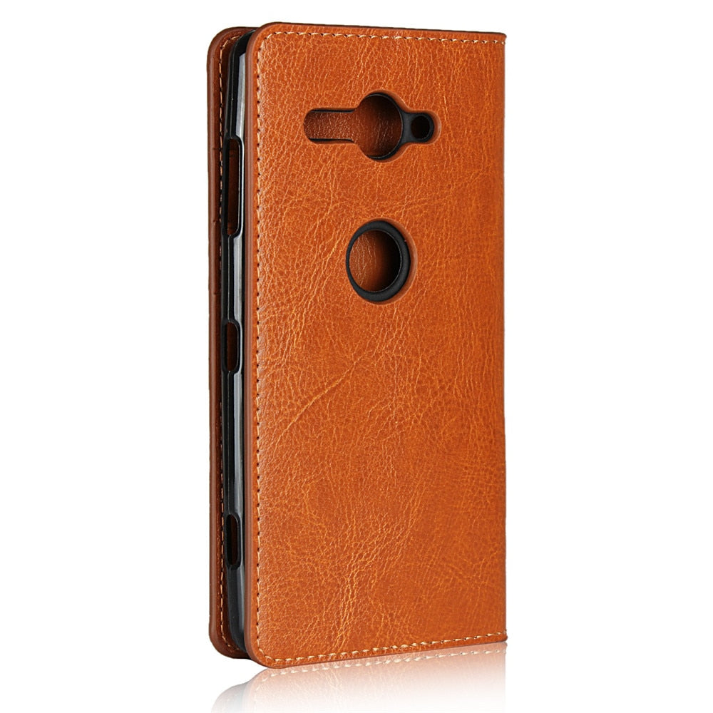 Cover Case For Sony Xperia X XZ2 XA1 Plus PU Leather Wallet Flip Phone Bag Cases For Sony Xperia XA2 Ultra XZ1 XZ XZS XA Compact
