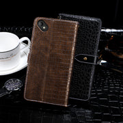 Crocodile Leather Cases For Wiko Sunny 2 Plus Case Protector Cover Mobile Phone Bag Shell Fundas Etui For Wiko Sunny 2 Plus Case
