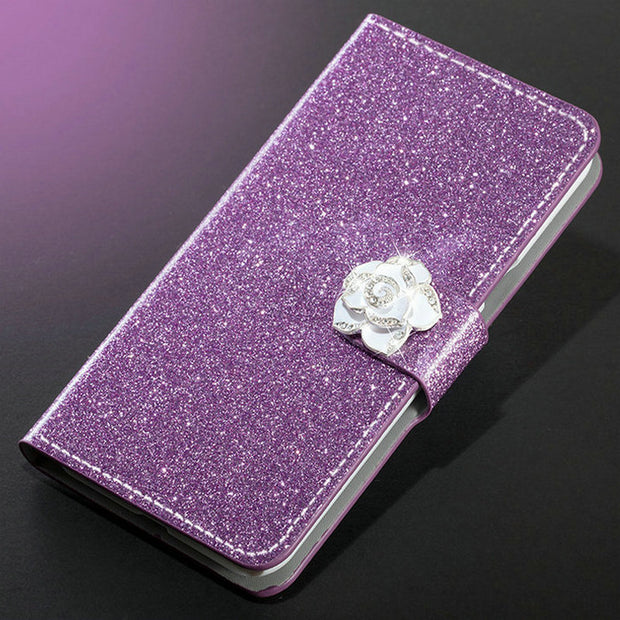Dneilacc Luxury New Hot Sale Fashion Sparkling Case For Huawei Honor