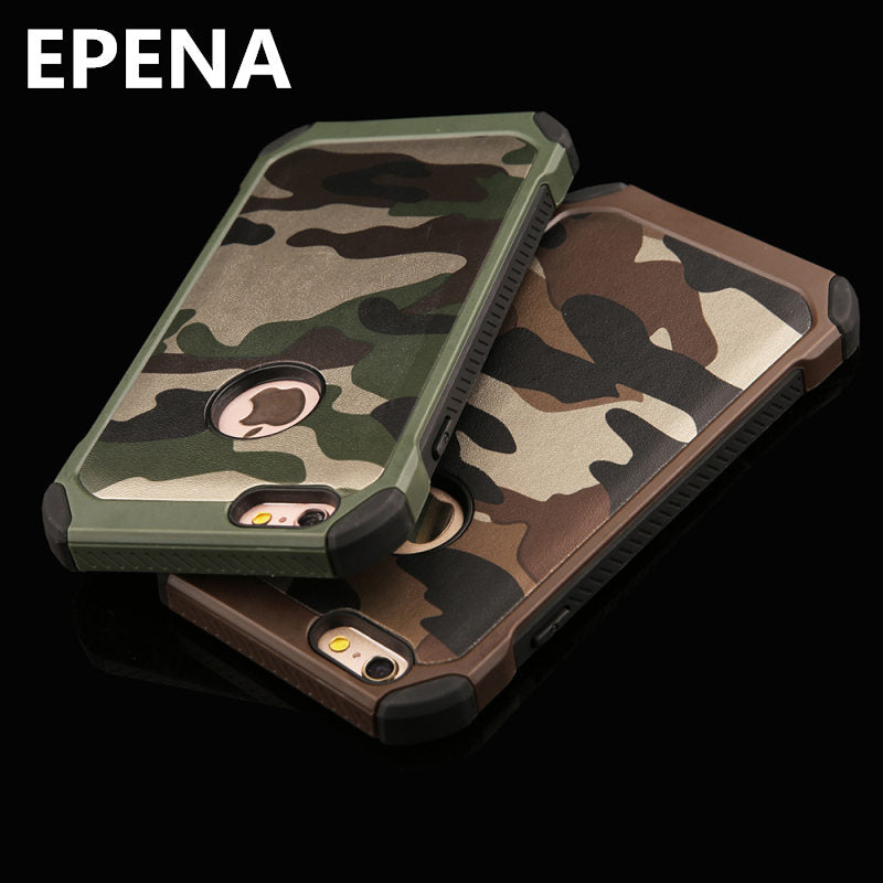check out a1f01 c8101 EPENA Navy Army Military Camouflage Phone Case For IPhone 5s SE 6 6s 7 Plus  8 Plus X Case Back Cover Fundas Coque