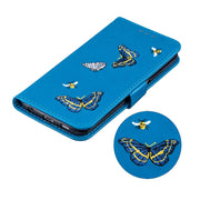Embroidery Butterfly Case For Samsung Galaxy S6 S7 Edge S8 S9 Plus Leather Wallet Cases Samsung S6 S7 S8 S9 Edge Plus Flip Cover