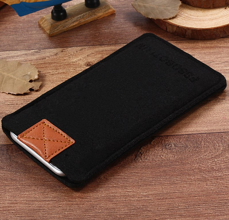 "FSSOBOTLUN,2 Styles,For Coolpad Fancy 4.7"" Case Pocket Phone Case Cover Handmade Wool Felt Protective Sleeve Pouch Bag"