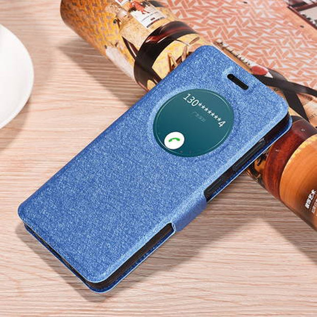 Fast Ship For Lenovo ZUK Z2 5.0'' Case Hight Quality Luxury Flip Leather Smart Cover For Lenovo ZUK Z2 Z 2