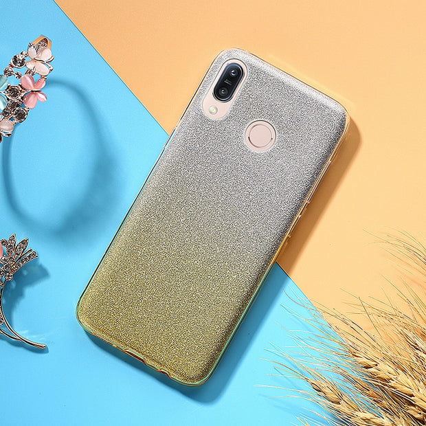 For Coque ASUS ZenFone Max M1 ZB555KL Cover Ultra Thin Luxury Glitter TPU Silicone Case For Funda ASUS ZenFone Max M1 ZB555KL