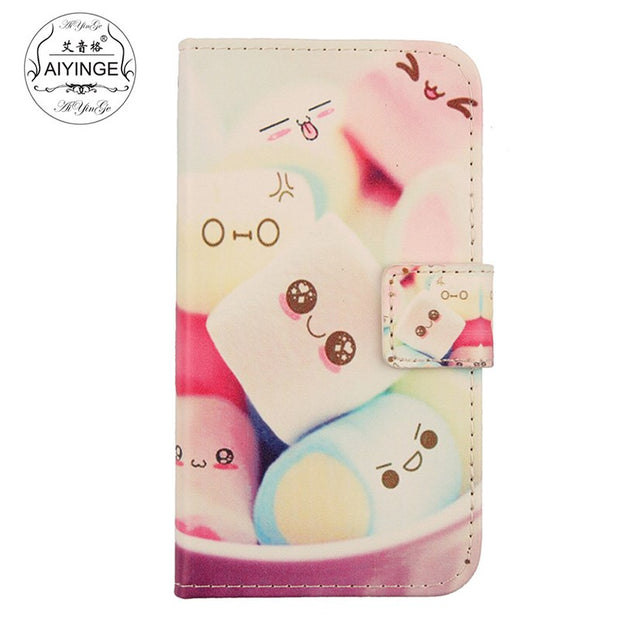 "For Doogee Homtom H10 5.85"" Case Book Style Flip Leather Cell Phone Cover For Doogee Homtom H10 Cases"