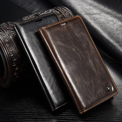For Fundas Samsung Galaxy Note 4 Case Original Luxury Leather Case For Coque Samsung Note 4 Magnetic Flip Wallet Stand Cover