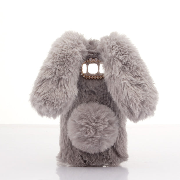 For Galaxy S8/ S8 Plus Bunny Cover 3D Cute Rabbit Warm Fur Case Phone Cases For Samsung Galaxy S8/ S8 Plus Warm Cases