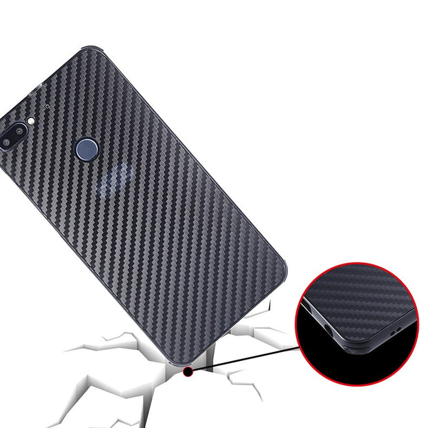 For HTC Desire 12+ Case Aluminum Metal Frame+Carbon Fiber Hard Back Cover Case For HTC Desire 12+ Shockproof Phone Shell