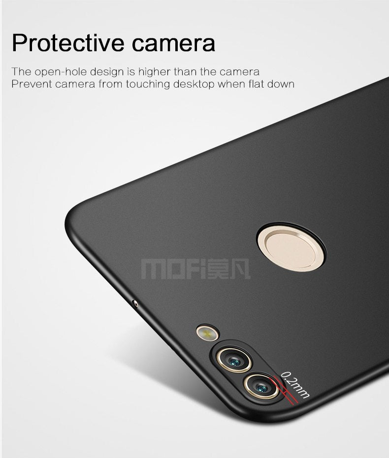 "For Huawei Enjoy 7S 5.65"" Cover Case Original MOFI Hard Case For Huawei Enjoy 7s Cover Hight Quality Phone Shell"