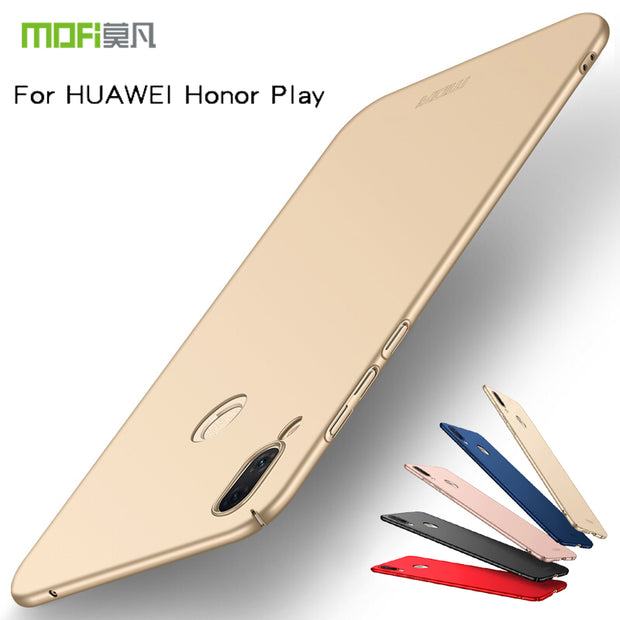 "For Huawei Honor Play 6.3"" Case Cover Hard Back Luxury Full Cover PC Plastic Mofi Original Case For Huawei Honor Play"