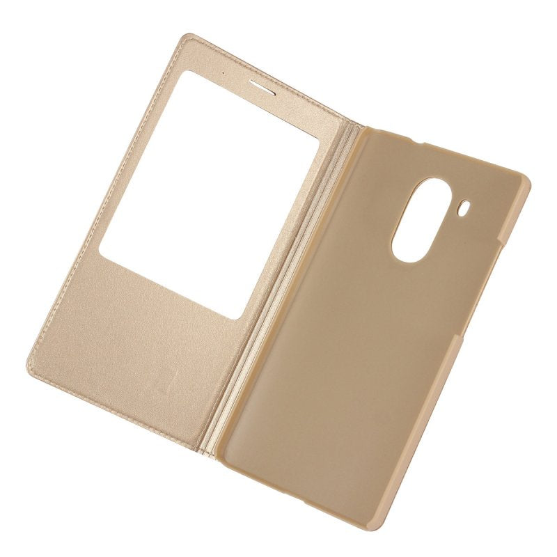 For Huawei Mate 8 Smart Window View Case Coque Cover Leather Flip Slide Answer Mobile Phone Bags Etui Hoesje For Huawei Mate8