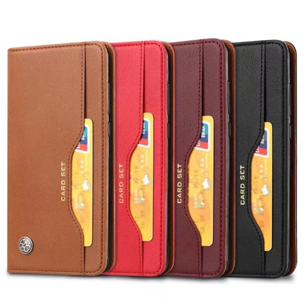 For Huawei P20 Case Cover Card Slot Wallet Flip PU Leather Fundas For Huawei P20 Cover Magnetic Protective Shield Shockproof