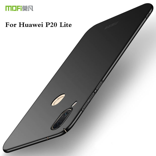 For Huawei P20 Lite Case MOFI PC Hard Case For Huawei P20 Lite/Nova 3E Cover Phone Shell Fitted Cases For Huawei P20 Lite