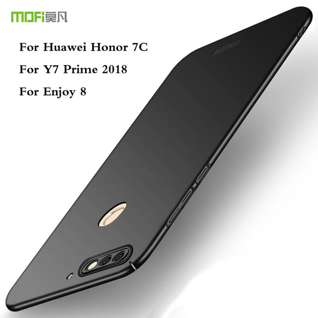"For Huawei Honor 7C Y7 Prime 2018 Enjoy 8 5.99"" Cover Case Original MOFI Hard Cover Case Phone Shell"