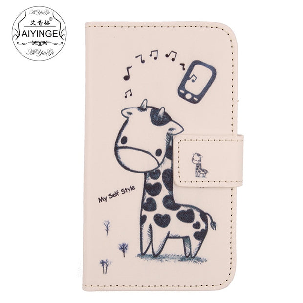 "For InnJoo Pro 2 5.5"" Case Book Design Flip Leather Wallet Cell Phone Cover For InnJoo Pro 2 Holster"