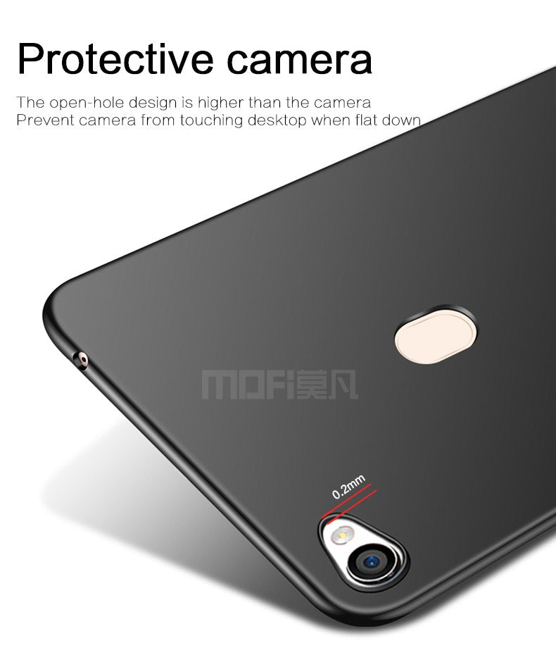 "For OPPO F5 A73 A73T 6.0"" Case Cover Hard Protection Black Capas MOFi Original For OPPO F5 A73 Back Cover For OPPO F5 A73"