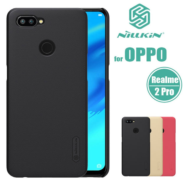 new product dc711 617bd For OPPO Realme 2 Pro Nillkin Super Frosted Shield Hard Back PC Cover Case  For OPPO Realme 2Pro Phone Case