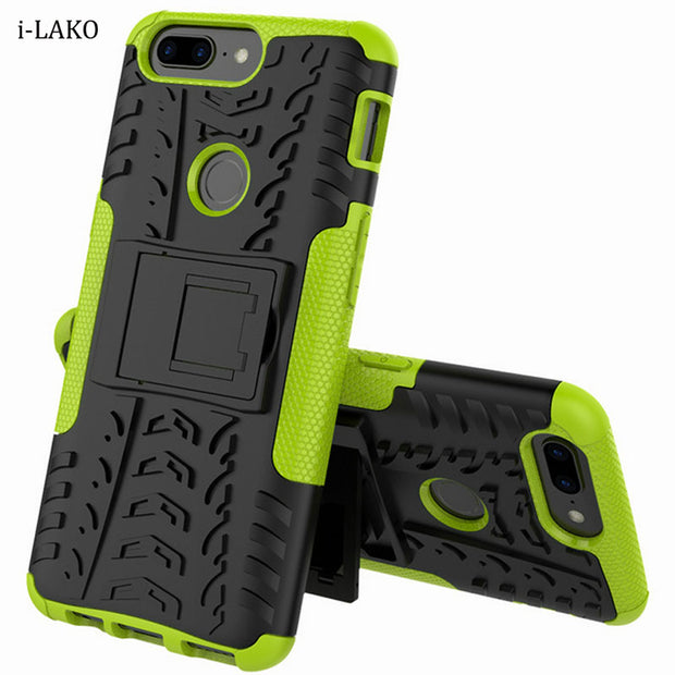 best website eb4f4 09932 For Oneplus 5T Removable Rugged Shockproof Hybrid Armor Heavy Duty Hard  Case With Kickstand For Oneplus 5