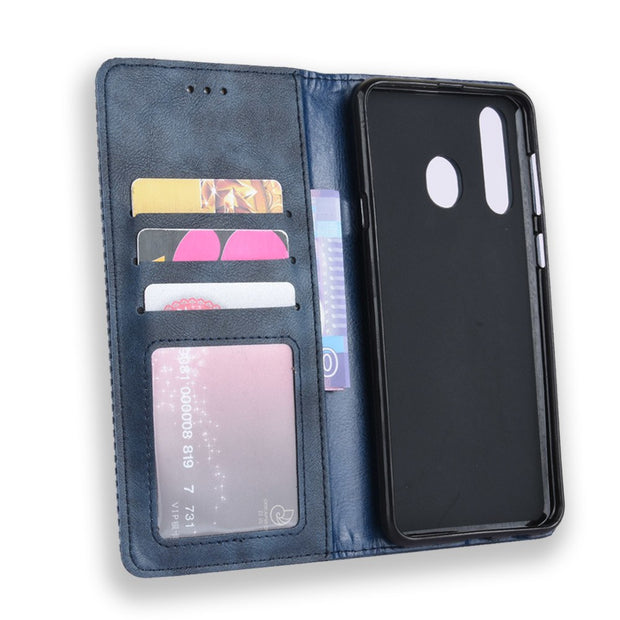 For Samsung Galaxy A8s SM-G8870 Case Wallet Flip Style Vintage Leather Phone Bag Cover For Samsung Galaxy A8S With Photo Frame