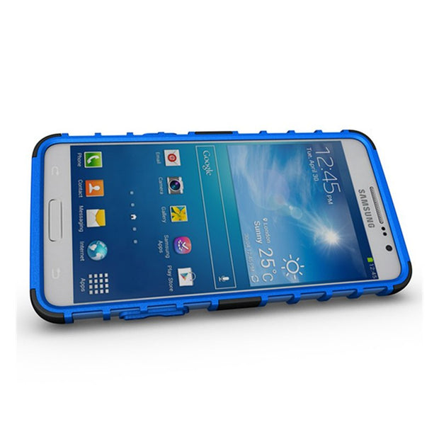 For Samsung Galaxy Grand Prime Case G530H G531H G531F Cover Coque Grand Prime Funda Silicon & Plastic Holder Stand Case