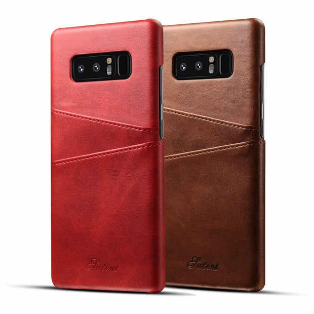 For Samsung Galaxy S8 Case Luxury Leather With Card Cases Galaxy S 8 Fitted Cases Mobile Phone Shell Back Cover Galaxy S8 Plus