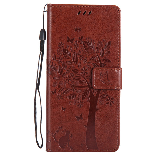 For Xiaomi Redmi Note 5 Pro /Redmi Note 4X/4/Mi 6/Note 3 Vintage Shockproof Wallet Flip PU Leather Card Slots Stand Case Cover