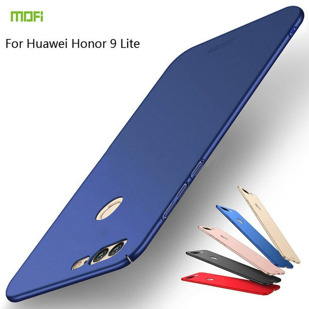 For Huawei Honor 9 Lite Case Cover Mofi Huawei Honor9 Lite Protector Hard Back Cover Pc Huawei Honor 9 Lite Phone Case
