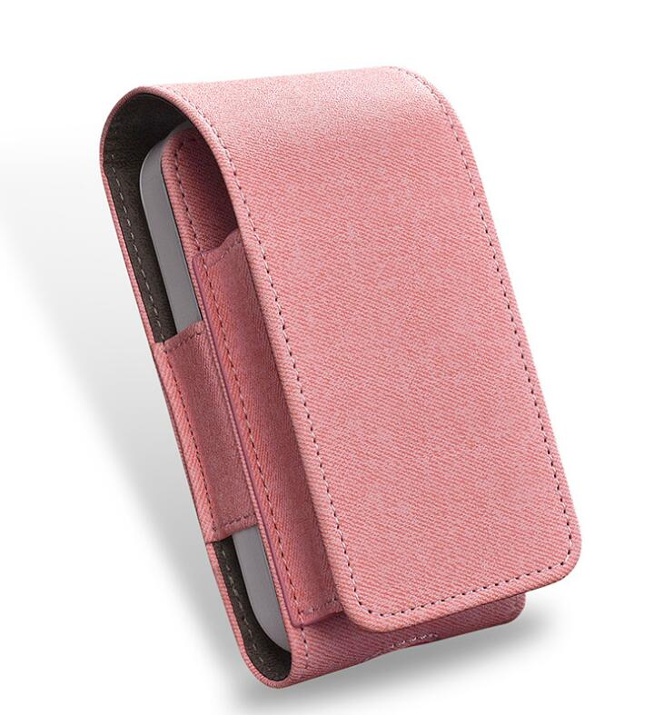 Girlwoman For IQOS 2 4 Plus Case Electronic Cigarette Iqos Case Leather  Wallet Pouch Bag Holder Cover Iqos Cigarett Bag